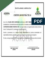 CERTIFICADO DE PRÁCTICAS COOPERATIVA DE AHORRO AGROPIA.docx