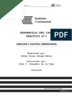 Desarrollo CP1-Dirección y Control Empresarial-Jefry Lezama Mateo