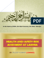 15mn02 Lakhra Risk Assessment