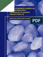 Que Podemos Saber de La Naturaleza Filosofia de La Realidad Natural II.pdf
