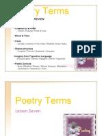 Poetry Vocabulary Part 7