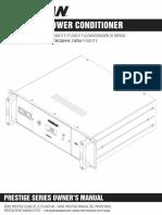 Furman P 2300 IT E Manual