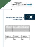 Procedimiento_Pruebas a Cables de MT (VLF)_REDESS_REV00 FINAL