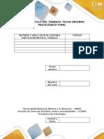 Examen Final-Informe Psicologico