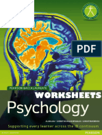 Psychology - Worksheets - Law, Halkiopoulos and Bryan - Pearson 2010