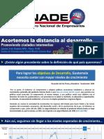 ENADE 2016 - Promoviendo Ciudades Intermedias Columnistas