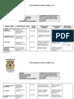 CRONOGRAMA Direccion de Operaciones