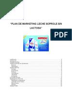 316582614 Plan de Marketing Soprole