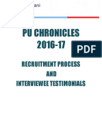 PU Chronicles 2016-17 V2.0