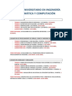 Máster Universitario en Ingeniería Matemática y Computación. Planificaciónprimercuatrimestre