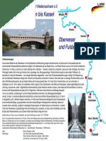 Karte Oberweser