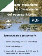 CONSERVACION RECURSO HIDRICO