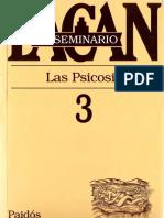 El Seminario 3. Las psicosis [Jacques Lacan].pdf