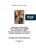 Historia y Devoción a La Virgen Del Carmen