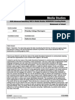 Statement of Intent Form-Media