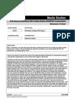 Statement of Intent Form-Media