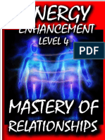 Energy Enhancement Level 4 Book Energy Cords Mastery of Relationships