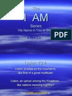 I AM - Week 1 - Lord Sabaoth