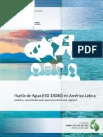 Huella Hidrica en Latinoamerica