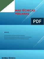 Normas técnicas peruanas