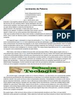 Institutogamaliel.com-A Adoração e o Conhecimento Da Palavra