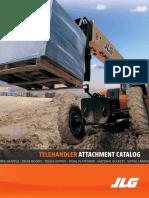 JLG Telehandler Attachment Catalog