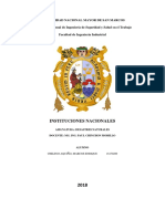 Instituciones Nacionales Cientificas