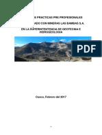 Informe de Geologia