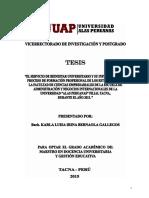 Bernaola Gallegos KLI UAP VIPG Docencia Universitaria Gestion Publica 2015