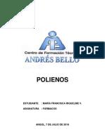 Polienos (Farmacos) - Maria Francisca Riquelme