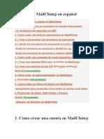 Tutorial de MailChimp en español
