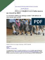 Nota de Prensa-Gasto Concertada- Cadena SER 2015
