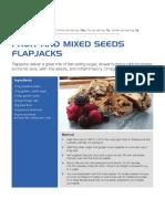 IZ Fruit and Mixed Seeds Flapjack
