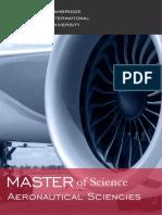 Aeronautical Sciencies MST