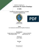 Contaminacion Ambiental en Republica Dominicana