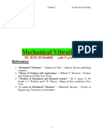 Mechanical Vibration I