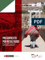 Brochure Presupuesto Por Resultados