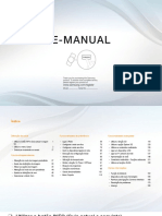 Manual Samsung Led UE32EH4003