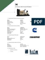 Ficha Tecnica Grupo Generador