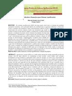 Arco Verde Analise de Indicadores Financeiros CBSAF