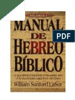 Manual de Hebreo Biblico vol1