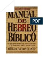Manual de Hebreo Biblico vol1