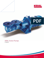 KRAL Screw Pumps. K Series 1