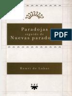 Lubac Henry De - Paradojas Seguido De Nuevas Paradojas.pdf