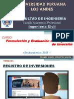 06. Fepi - Semana 04 - Registro de Inversiones