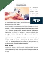 Hipertension y Diabetes Mellitus