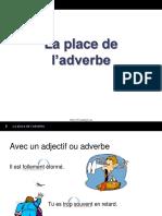 4 La Place de l Adverbe