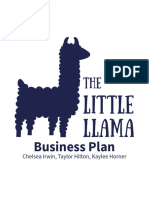Little Llama Business Plan