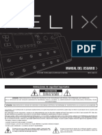 Helix Owners Manual (REV B) - Spanish