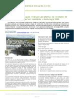 Depuradora Aguas Residuales Reciclado Residuos Plasticos Ultrafiltracion Mbr Biorreactor Membranas